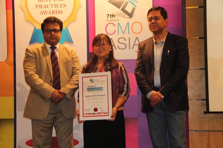 ecpalaganas CMO ASIA Award